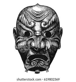 31451b73f48be Samurai Sketch Images, Stock Photos & Vectors | Shutterstock