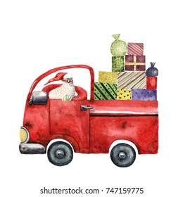 Santa Claus car