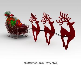 Santa Claus Christmas Gift