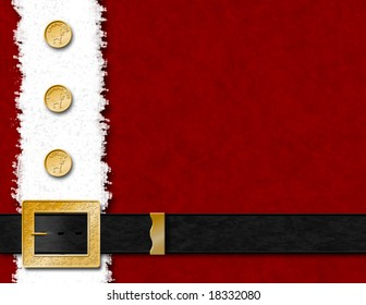 Santa Claus Coat & Belt
