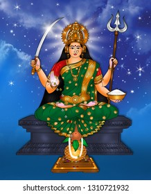 Santoshi Mata is particularly worshipped by women of North India and Nepal. A vrata (ritual fast) called the Santoshi Maa vrata performed by women on 16 consecutive Fridays wins the goddess' favour.