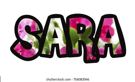 Sara Name Image Images Stock Photos Vectors Shutterstock