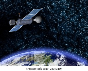 satellite and deep space