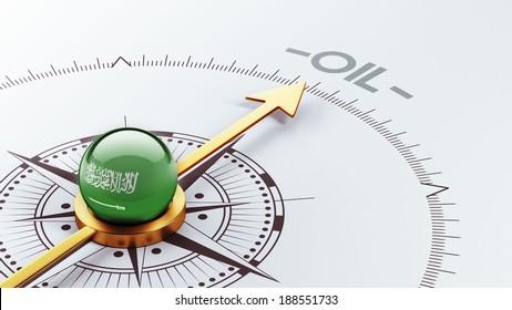Saudi Arabia High Resolution Oil Concept