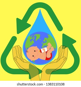 Save water for coming generation by recycling and reducing wastage