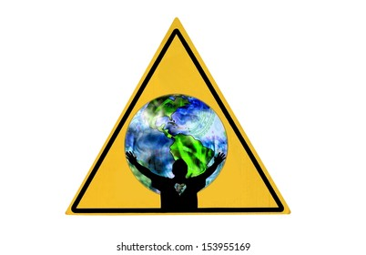 Save The World Sign