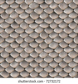 A scaly snake skin texture that tiles seamlessly as a pattern in any direction.