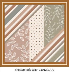 scarf pattern design