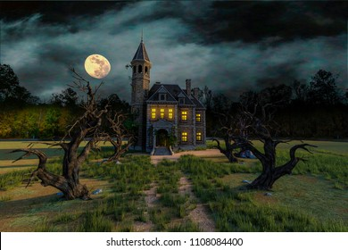 Horror House Images Stock Photos Amp Vectors Shutterstock