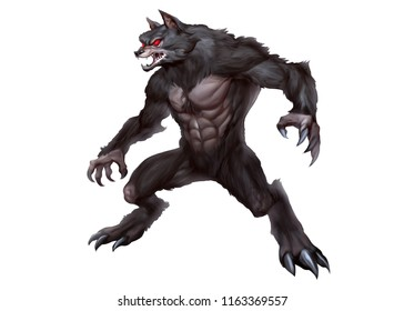 werewolf images stock photos vectors shutterstock
