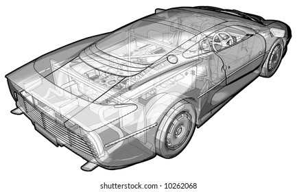 car schematic images stock photos vectors shutterstock rh shutterstock com car alternator schematic car schematic poster