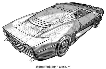 Jaguar Car Driving Stock Illustrations Images Vectors Shutterstock