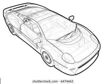 car schematic images stock photos vectors shutterstock rh shutterstock com car schematic poster car schematic drawing