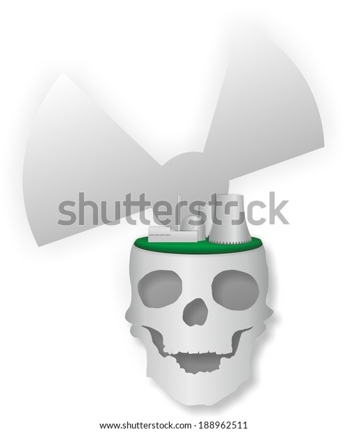 power plant schematic symbols schematic illustration nuclear power plant skull stock  nuclear power plant skull stock