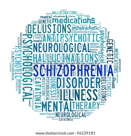 a469bbb4 Schizophrenia Word Collage Arkiv Illustrasjon 96229181 – Shutterstock