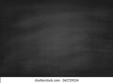 School Blackboard Texture. Black Chalkboard Background