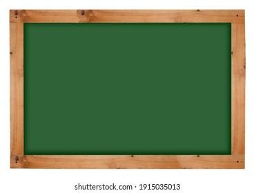School chalkboard. Board with wooden frame