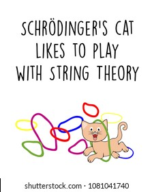 Schrodinger's cat likes to play with String Theory