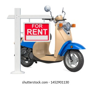 Imágenes, fotos de stock y vectores sobre Rent a Moped | Shutterstock