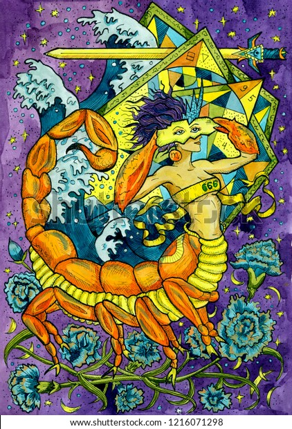 Scorpio Zodiac Fantasy Art
