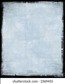 Scratched Background with Grunge Frame