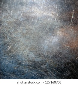 scratched metal texture ;  grunge background