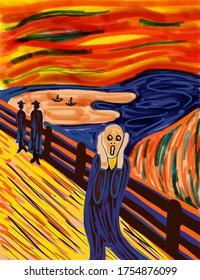 The SCREAM - An interpretation