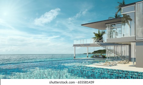 Super Luxury Beach Houses Stock Illustrations Images Vectors Download Free Architecture Designs Scobabritishbridgeorg