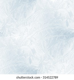 seamless abstract background - frozen window texture