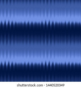 Seamless Abstract Ombre Degrade Batik Tie Dye Gradient Zig Zag Texture Pattern Blurred Wavy Background