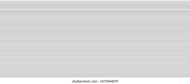 Seamless abstract wallpaper. Pattern with stripes. Line background. Striped texture. Backdrop for design. Black and white illustration