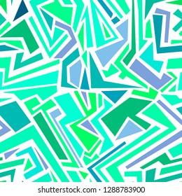 seamless abstrakt pattern. blue geometric background