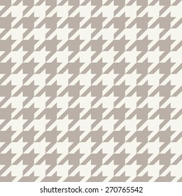 Seamless anthracite gray houndstooth pattern