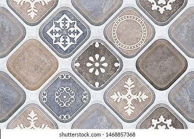 Seamless background for ceramic wall tiles design
