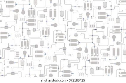 Electric Scheme Images, Stock Photos & Vectors   Shutterstock