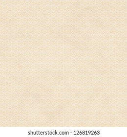 Seamless Background with Tan Paper Texture and Tiny Abstract Floral Pattern
