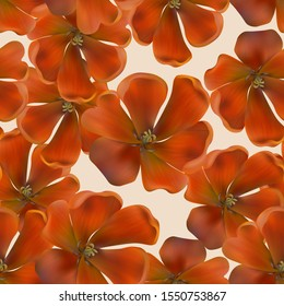 Seamless background with tulips. Flowers The pattern is suitable for greeting and invitation cards, printing.