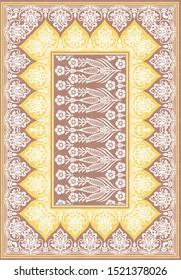 seamless bandanna pattern on background