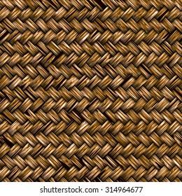 Seamless basket weave pattern