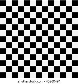 Seamless black and white checkered tiles texture