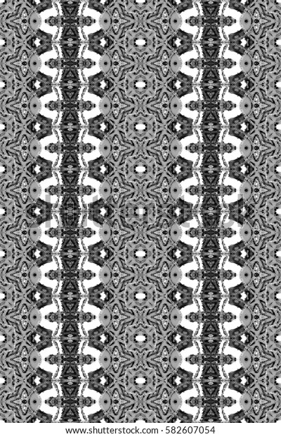 Seamless black and white rectangle vertical pattern for textile, design and backgrounds