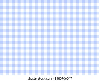 Seamless blue and white checkered background texture