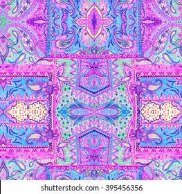 seamless bohemian pattern.