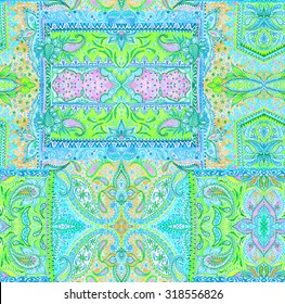 5fb9c52c3 seamless bohemian pattern. paisleys and detailed ornaments