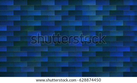 Seamless Brick Pattern Wall Paper Blue Stock Illustration 60 Cool Brick Pattern Paper