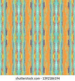 seamless brushed painting pattern with dark khaki, sky blue and medium aqua marine colors. endless background for wallpaper, fashion design or printable products.