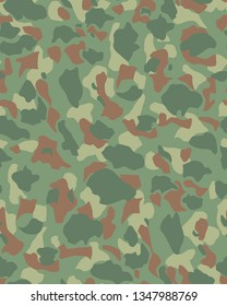 Seamless camouflage design for military shirt print.