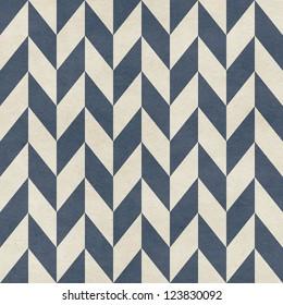 Seamless chevron pattern on paper texture