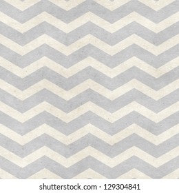 Seamless chevron pattern on paper texture. Basic shapes backgrounds collection
