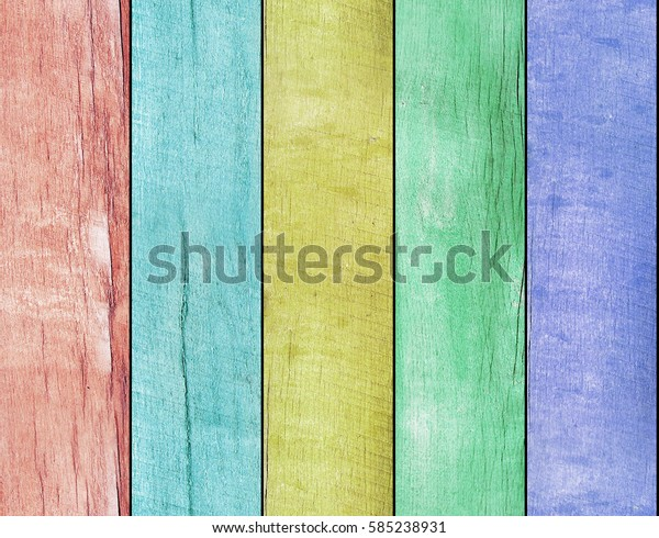 seamless colored wooden texture
